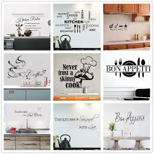 Home Decor Removable Food Wall Stickers Kitchen Rules Diy Vinyl Decal Home Accessories Beautiful Pattern Design Decoration Wall Stickers Aliexpress