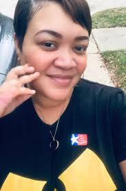 """Kirsten West Savali on Twitter: """"Happy to cast my vote for @BernieSanders  today. *That little hand is my 7-year-old son letting me know he's not here  for my selfies.*… https://t.co/6g8WRfSFuf"""""""