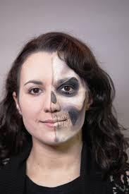 25 half face makeup ideas for