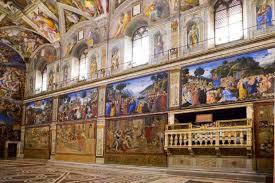 Ecco gli affreschi di Raffaello nella Cappella Sistina dopo 400 anni | Il  Tempo