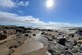 Rocks, sand and water in Saligo Bay, Isle of Islay | Islay ...