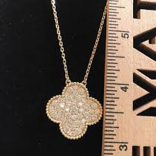 best diamond clover necklace products