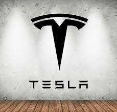 Tesla Wall Decal Art Garage Logo Car Vinyl Wall Sticker Decor Many Sizes Nl67 Ebay