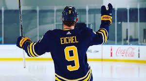 Eichel to wear No. 9 starting in 2018-19