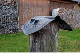 Detail Of Wooden Fence Construction Stock Photo Alamy