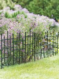 Cross Hatch Garden Border Fencing Gardener S Supply In 2020 Garden Border Edging Garden Borders Landscape Edging