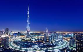 تحميل خلفيات برج خليفة الإمارات العربية المتحدة ناطحات السحاب