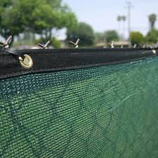 6 X 50 Fence Privacy Screen Windscreen Shade Cover Fabric Mesh Tarp Green For Sale Online Ebay