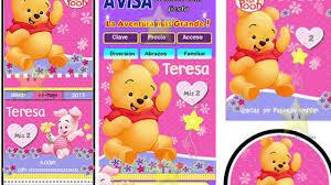 89 Invitaciones Baby Shower Winnie Pooh