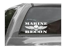 Marine Recon Vinyl Window Decal Usmc Ebay