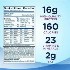 nutritional shake vanilla 8 oz bottle