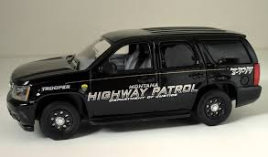 1 43 Montana Highway Patrol State Police Decals