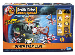 Angry Birds Star Wars Death Star Jenga Game Toy Destroy pigs Kids ...