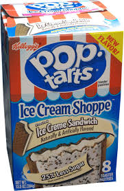 ice creme sandwich pop tarts review