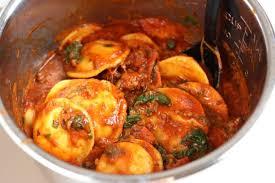 sausage pepperoni spinach ravioli
