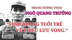 Trung tướng Ngô Quang Trưởng | Vị tướng tài ba của quân lực Việt ...