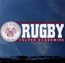 Culver Academies Rugby Decal Culver Eagle Outfitters