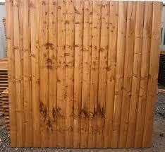Double Sided Premium Featheredge Fence Panel