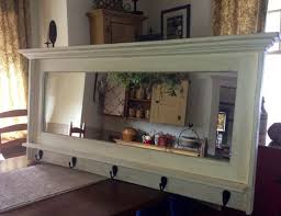 coat rack mirror with images