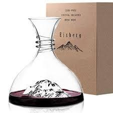iceberg wine decanter aerator 100 hand