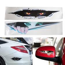 3d Car Sticker Creative Modified Stickers Eyes Peeking Voyeur Monster Waterproof Auto Vinyl Sticker Rear Window Decal Car Stickers Aliexpress
