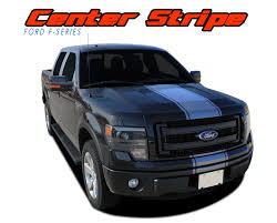 F 150 Center Stripe Ford F150 Stripes F150 Decals F150 Vinyl Graphics