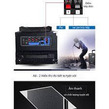 Loa Karaoke Bluetooth cao cấp TEMEISHENG A8-2T - P563866 | Sàn thương mại  điện tử của khách hàng Viettelpost
