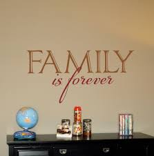 Family Is Forever2 Wall Decals Trading Phrases