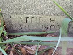 Effie Hawkins McElfresh (1871-1909) - Find A Grave Memorial