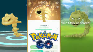 WORLDS FIRST 96%*SHINY LUCKY* ONIX EVOLUTION TO SHINY LUCKY STEELIX IN POKEMON  GO ADVENTURE WEEK - YouTube