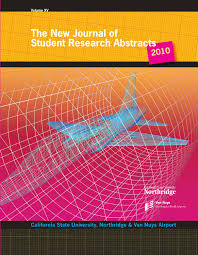 New Journal of Student Research Abstracts 2010 by Alvalyn Creative - issuu