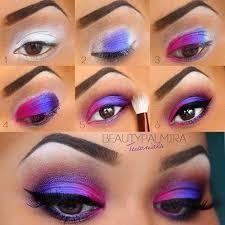 bright colors eye makeup by evana eva