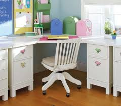 Corner Desk For The Sun Room In The Corner With The 2 Windows White Kids Desk Baby Furniture Girls White Desk