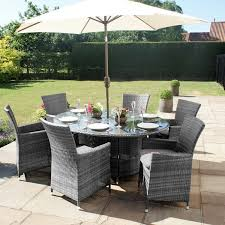 grey 6 seater oval dining table