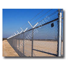 Armstrong Wires Tm Galvanized Iron Chain Link Wire Mesh Fence Size 40mm To 75mm Rs 68 Kg Id 8544131812