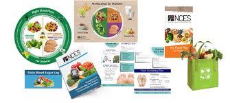 nces diabetes education collection