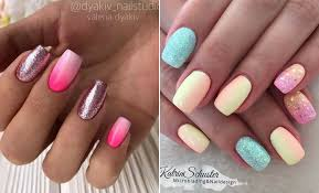45 cute stylish summer nails for 2019