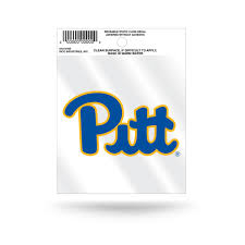 Pitt Panthers New Logo Static Cling Sticker Decal New Window Or Car Hub City Sports