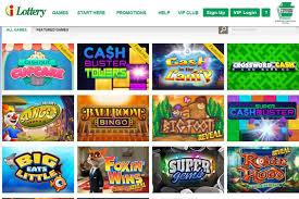 ilottery mimics slot games