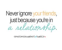 funny quotes about friends ignoring you