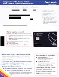 southwest airlines plus credit card