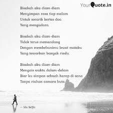 bisakah aku diam diam men quotes writings by ida selfia