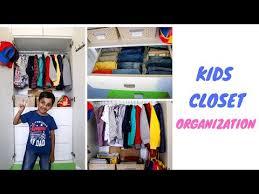 Kids Closet Organization Tips To Organize Kids Wardrobe Youtube