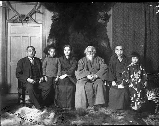 Image result for okakura and tagore""