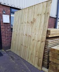 Feather Edge Fence Panels 6x6