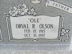 """Orval Ray """"Ole"""" Olson (1915-1997) - Find A Grave Memorial"""