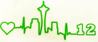 Seattle Skyline Heartbeat Vinyl Car Decal Space By Englishbliss Heartbeat Tattoo Sleepless In Seattle Car Decals