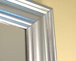 diy silver leaf mirror using krylon