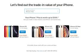 apple launches trade in app to show how