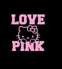 Hello Kitty Love Pink Car Window Decal Sticker Custom Sticker Shop